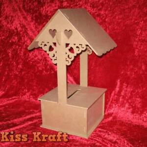 Wedding or Engagement Wishing Well - DIY Craft - RAW MDF Corio Geelong City Preview