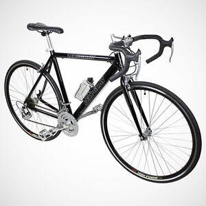 New-54cm-Aluminum-Road-Bike-Racing-Bicycle-21-Speed-Shimano-Black-Color