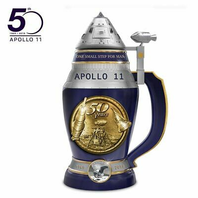 Apollo 11 50th Anniversary Heirloom Porcelain Stein