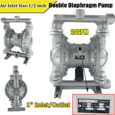 Air-operated Double Diaphragm Aluminum Alloy Pump Chemical Industrial 1in 24gpm