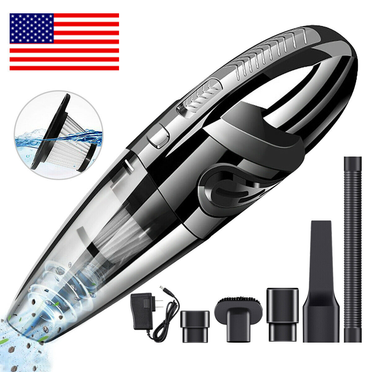 portable hand vacuum cleaner cordless wet