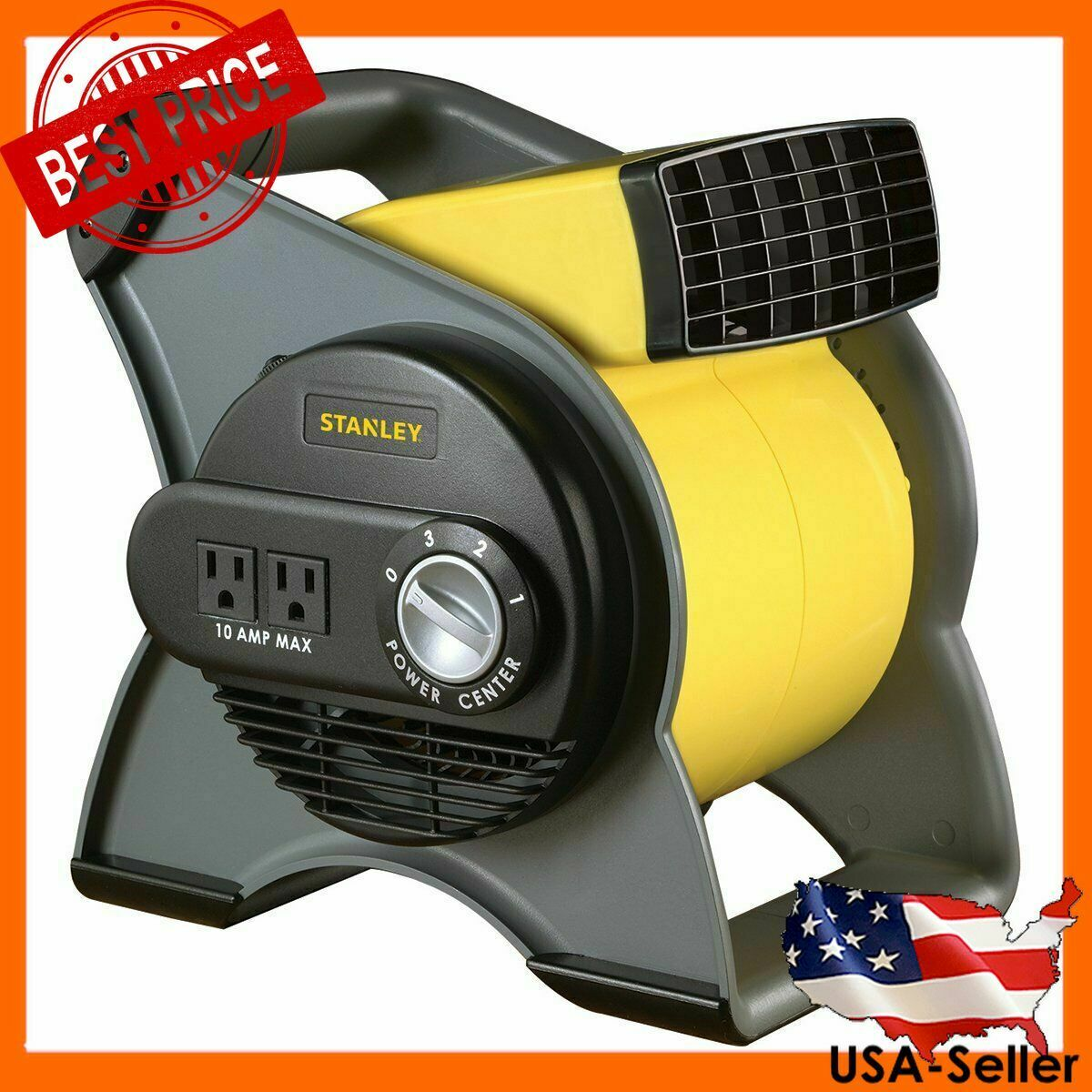 High Velocity Blower Fan - Features Pivoting Blower and Buil