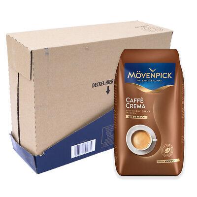 Mövenpick caffè crema koffiebonen 4 x 1 kilo