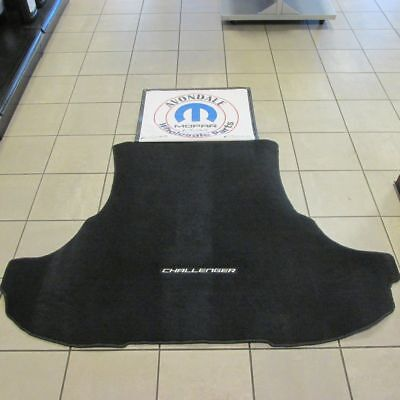 DODGE Challenger Carpeted Cargo Area Trunk Mat Liner Mopar NEW OEM MOPAR Carpeted Cargo Area Mat