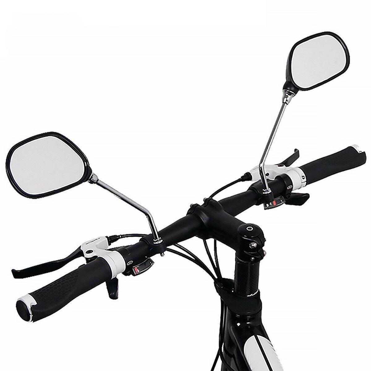 2 Stück Fahrrad Rückspiegel eBike Spiegel Fahrradlenker E-Bike Set Links Rechts