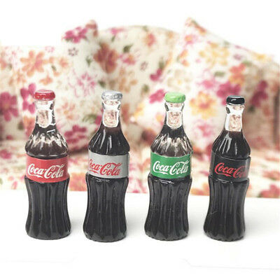 1:12 Miniature Dollhouse Coca Cola Sprite Dink Figure Bottle Decor Random 1pc