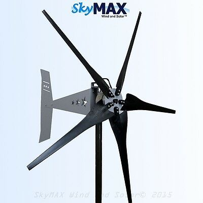 Missouri Rebel Freedom 5 blade 12 volt 1200 watt 1700 max wind turbine generator