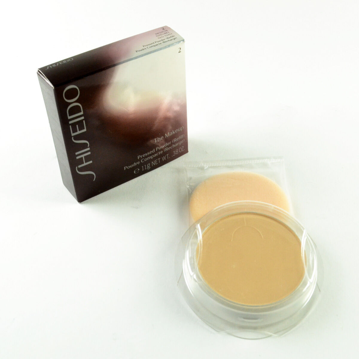 Shiseido The Makeup Pressed Powder Refill 2 Medium - Full Si