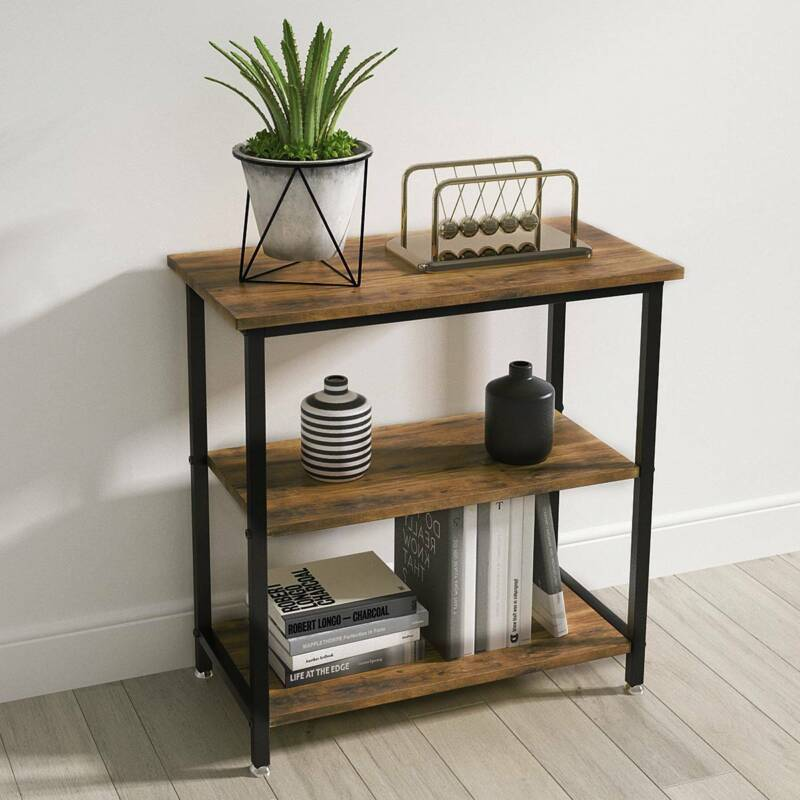 YITAHOME Coffee Tray Sofa Side Table End Table Entryway Hallway Console Table