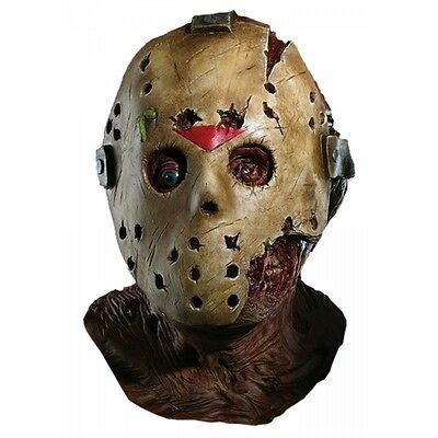 Jason Mask Costume Accessory Adult Friday the 13th Halloween (Jason Costume)