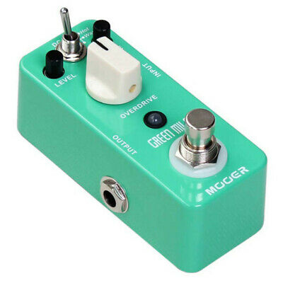 Mooer Green Mile Tube Drive Guitar Effects Pedal MOD1