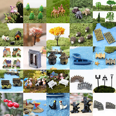 DIY Mini Miniature Fairy Garden Ornament Decor Pot Craft Dollhouse Accessories - Diy Ornament