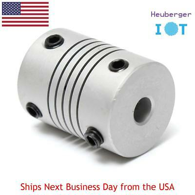 Motor Jaw Shaft Coupler 5mm To 8mm Flexible Coupling 19x25mm For 3d Printer Cnc