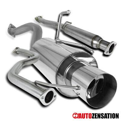 Fit 92-00 Honda Civic EX 2Dr 4Dr N1 Exhaust Muffler Catback System