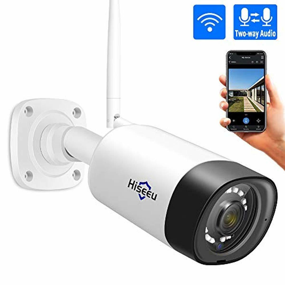Hiseeu HD 1080P 720P IP Camera Wireless Wifi Bullet Camara Outdoor Waterproof