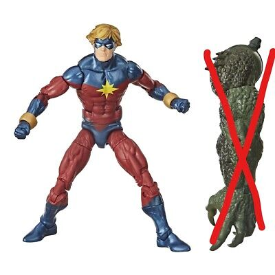 Avengers Video Game Marvel Legends 6-Inch Mar-Vell with NO BAF Piece SHIPS LOOSE