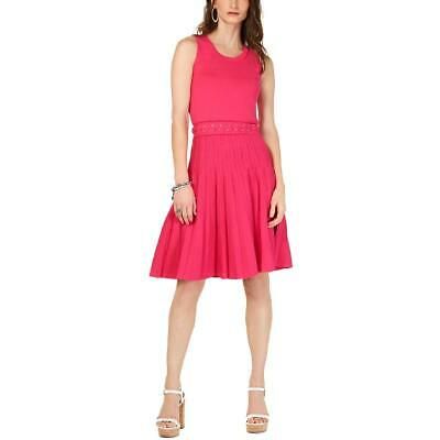 MICHAEL Michael Kors Womens Grommet Lace Up Mini Cocktail Dress BHFO 4483