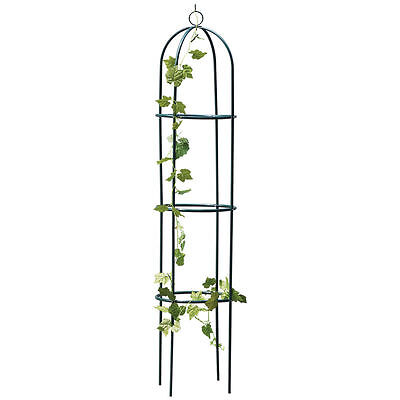 1.9M Metal Garden Obelisk Climbing Plant Flowers Steel Frame WGO