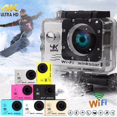 SJ9000 PRO CAM 4K WIFI ACTION CAMERA ULTRA HD 16MP VIDEOCAMERA SUBACQUEA DV