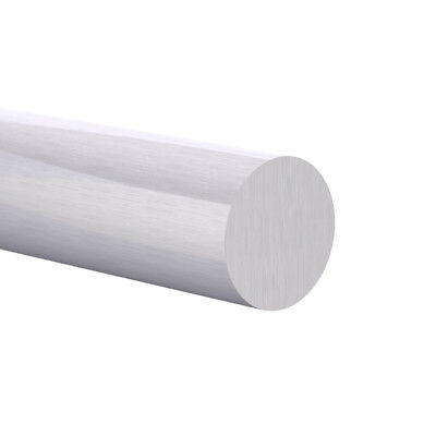 8mm Aluminum 6061 Round Rod Solid Bar Mill Finish 6 Foot