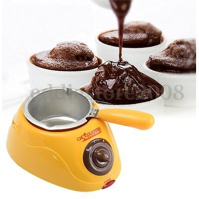 Electric Chocolate Candy Melting Pot Melter Machine Diy Kitchen Tool With Mould