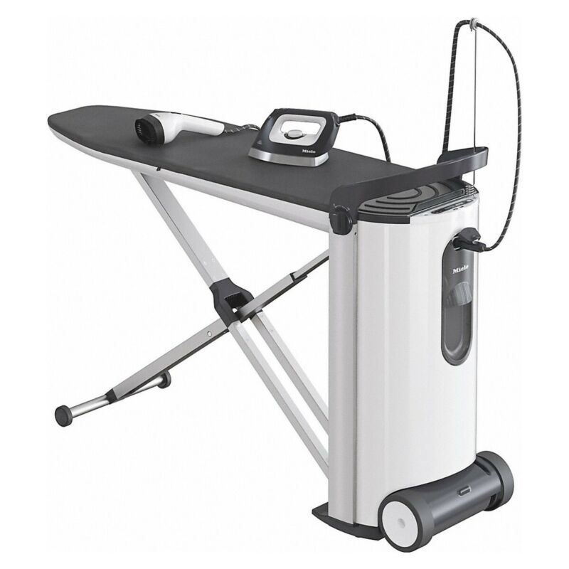 Miele B 3847 FashionMaster Steam Ironing System with Display and Steamer, White