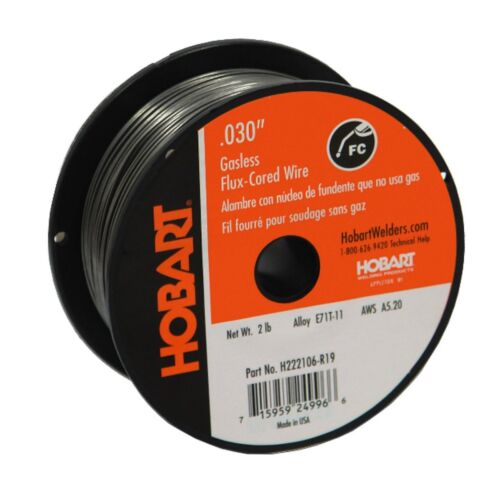Hobart Fabshield 21B .030 x 2lb Flux Cored Wire (E71GTS030X2)
