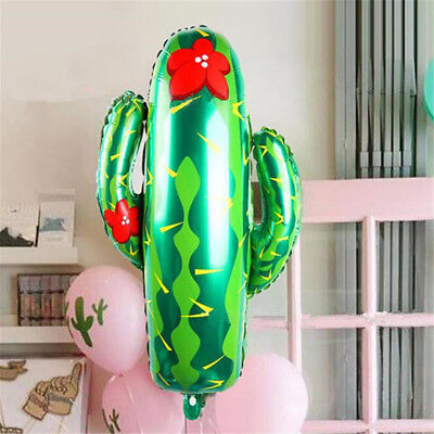 1/2/5PCS Aluminum Foil Cactus Balloons Home Hawaii Party Decoration Kid Toy](Balloons Hawaii)
