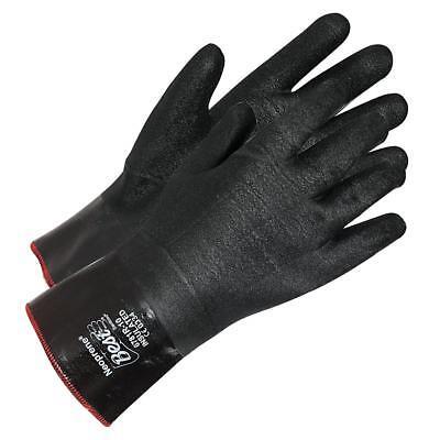 SHOWA BEST 6781R 10 LARGE 12 INCH INSULATED NEOPRENE COATED GLOVE 1 - 12 Inch Neoprene Gloves