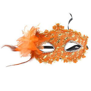 Fashion Flower Crystal Venetian Lace Face Eye Mask Masquerade Costume Party Ball