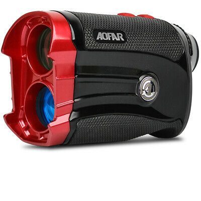 AOFAR GX-2S Golf Range Finder Laser 600Y Slope on/off Flagpole Lock Vibration