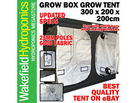 3 m x 2 m x 2 m Hydroponics Lighthouse max-professionnel Grow Tent