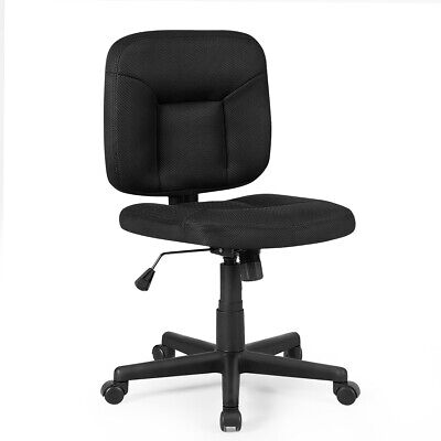 Mesh Computer Ceo Low Back Adjustable Task Chair Armless Home Office Furniture