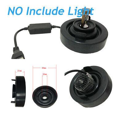 2PCS 80mm Rubber Car LED Headlight Housing Dust Cover Rubber Bulb Seal Cap Kits