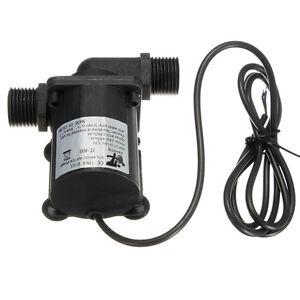 Elettrico solare dc 12v 1000l h brushless motore acqua for Acqua per acquario