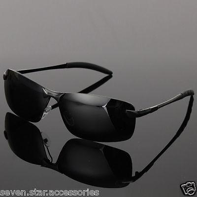 Sonnenbrille Radbrille Sportbrille Brille Schwarz Aviator