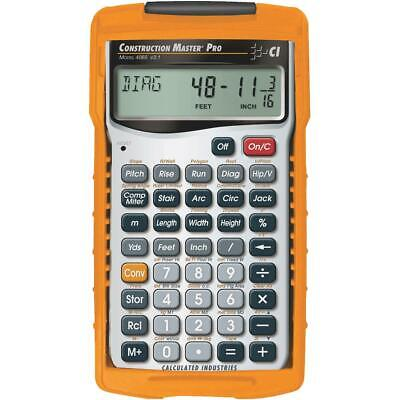 Calculated Industries Construction Master Pro Project Calculator 4065  - 1 Each