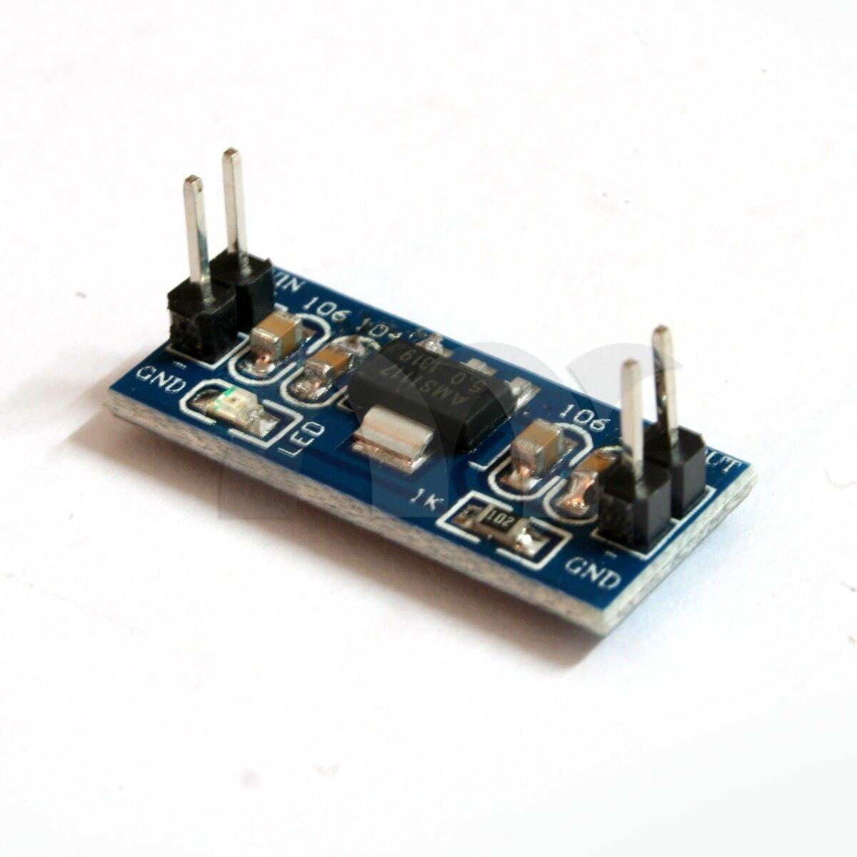 AMS1117-5V DC-DC Step-Down Voltage Regulator Adapter Convert