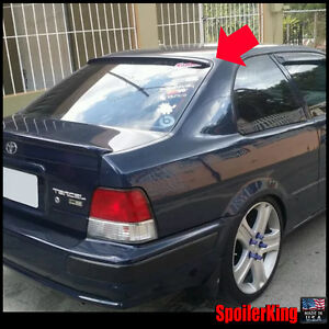 Rear Roof Spoiler Window Wing (Fits: Toyota Tercel 1995-00 2dr) SpoilerKing