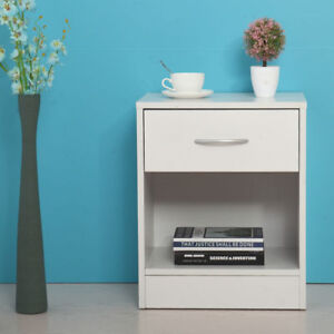 home u0026 garden furniture white night stand 2 layer wdrawer bedside end table organizer bedroom stand