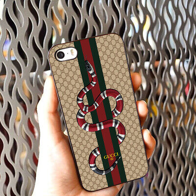 Cases Gucci Snake iPhone 11 Pro XS Max 7+ 8 Plus Samsung S10+ S9 S8 Note 10+ 9 8