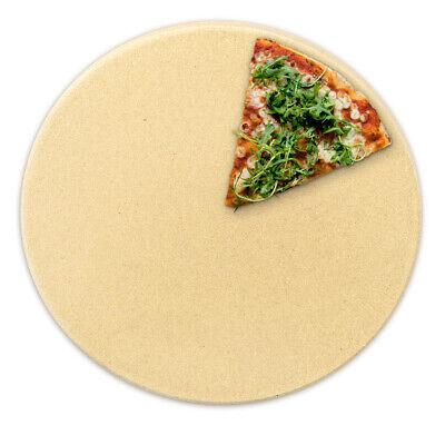 Pizzastein aus Cordierit für Backofen Grill Pizza Stein Ofen Brot Flammkuchen ()