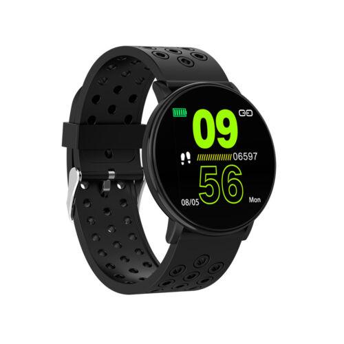 New W8 Smart Watch Blood Pressure Heart Rate Sport Waterproof Bracelet Wristband