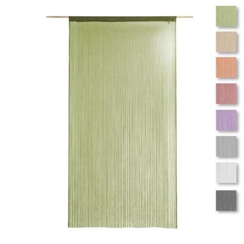 Tenda a fili d'arredo Millefili 140x280 cm - tinta unita S002