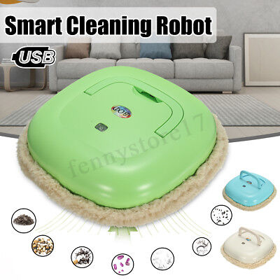 Smart Auto Robot Vacuum Cleaner Floor Mop Cleaning Sweeping Washable Microfiber for sale  Altadena