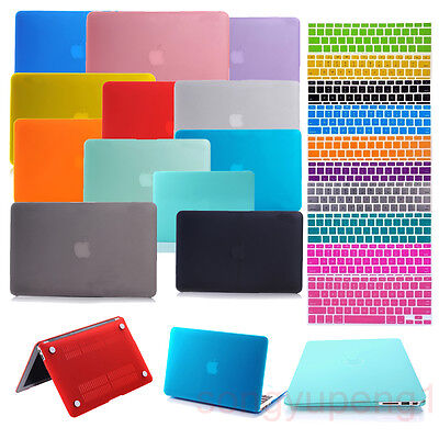 Laptop Rubberized Cover Case Hard Shell for Macbook Air / Pro / Retina 11 13 15