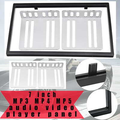 7 Zoll Auto Stereo Radio Blende Panel Dash Rahmen + 2 Din Kit Für MP3 MP4 MP5 2 Din Kit