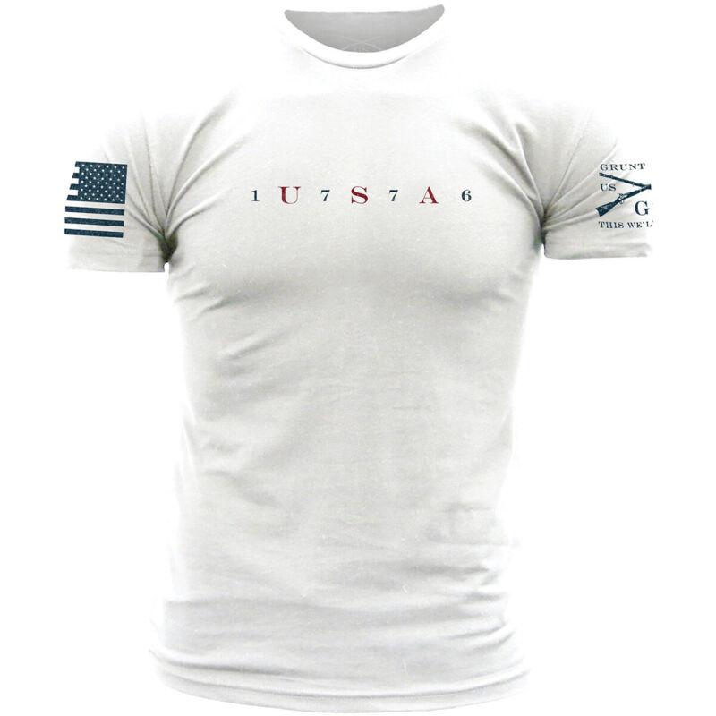 Grunt Style USA 76 T-Shirt - White