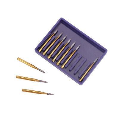 Dental Tungsten Carbide Burs Drill Fg 7902 Trimming Finishing Needle Shape