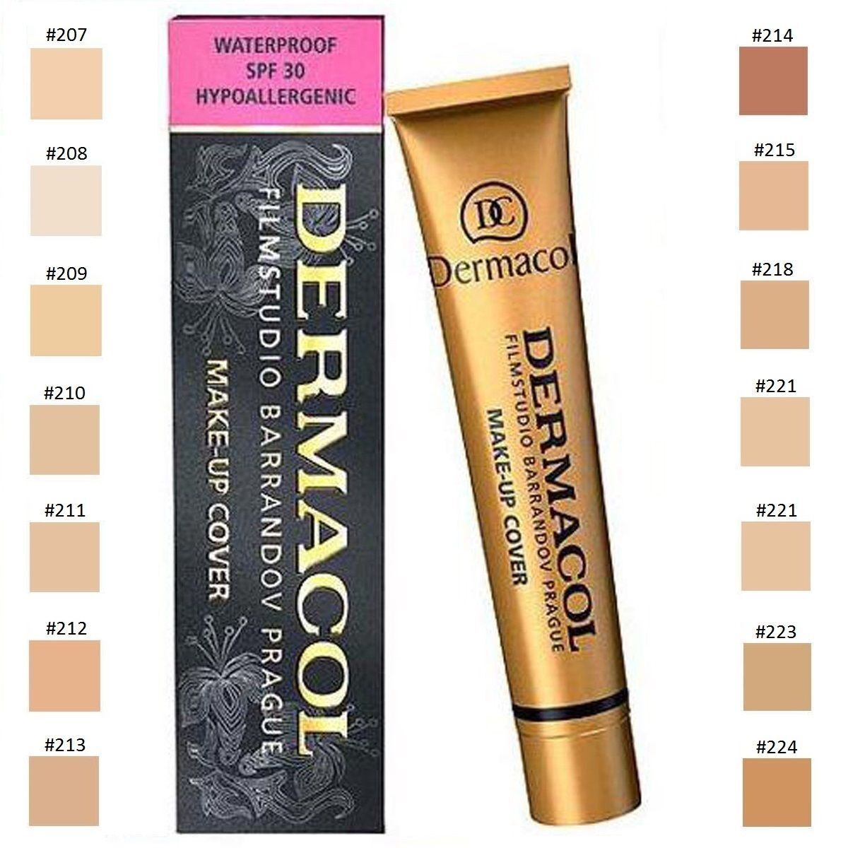 AKTION Dermacol Make Up Cover 211 Concealer Grundierung stark deckend NEU!
